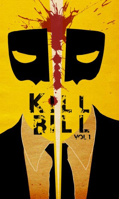 Kill Bill Vol 1 minimalist movie poster