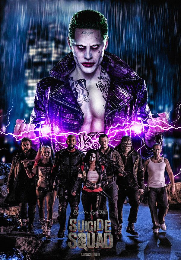 Suicide Squad Movie Poster • GOXIII