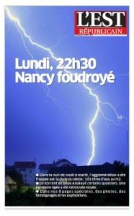 Nancy : des inondations dévastatrices