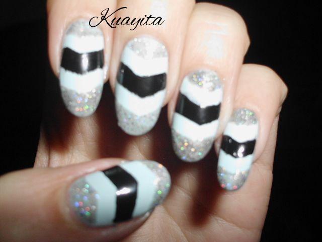 Menta Negro & Glitter