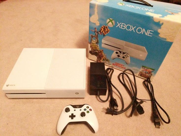 Microsoft Xbox One White 500GB Special Edition Video Game Console  | eBay