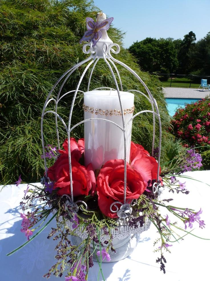 Craftheads: Bridal Shower Centerpiece