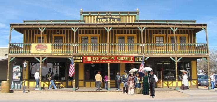 T. Miller's Tombstone Mercantile and Hotel - Tombstone Arizona ...