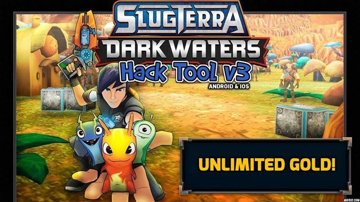 Slugterra: Dark Waters Hack for iOS and Android generates any amount of gold for free
