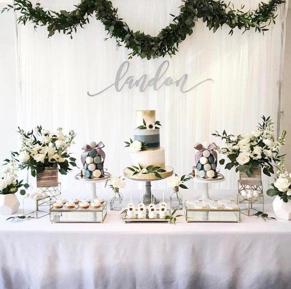 Silver Birthday – Silver Tablecloth – Grey Ombre – Silver Ombre – Ombre Tablecloth – Ombre Birthday – Boy Birthday Tablecloth – Silver Table