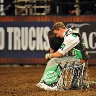 Kody Lostroh is a cowboy of faith