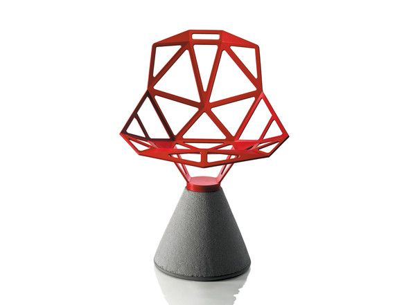 Magis Chair One - Concrete Base