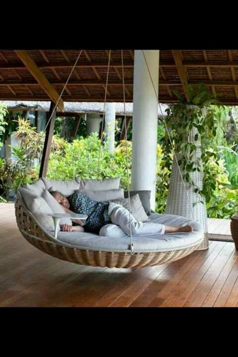 Outdoor swing bed Love it Better than