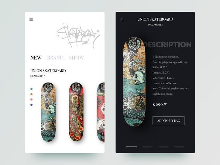 Skateboard Sale App