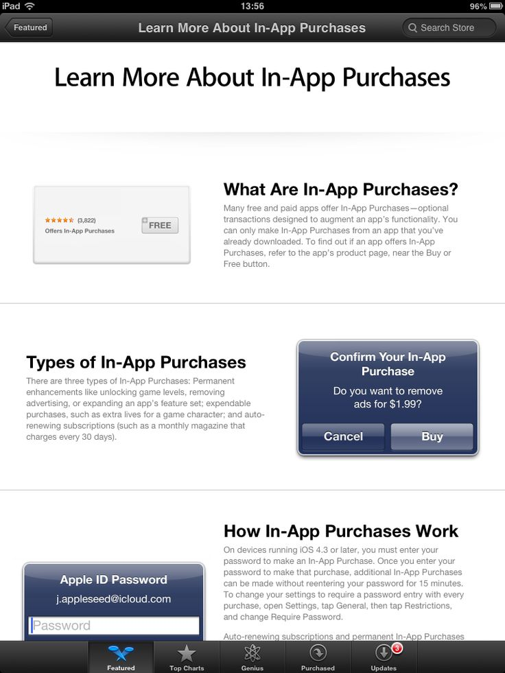 Καταδικάστηκε η Apple για τις in-app αγορές.