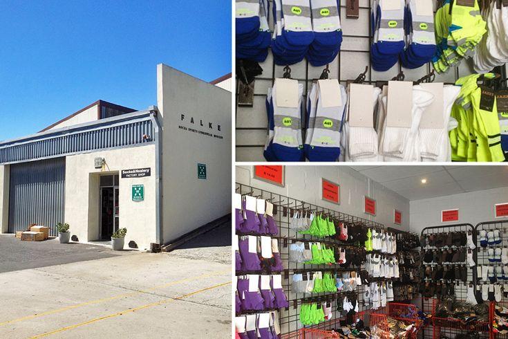 Falke Socks - Cape Town factory shops - Photos by Rachel Robinson