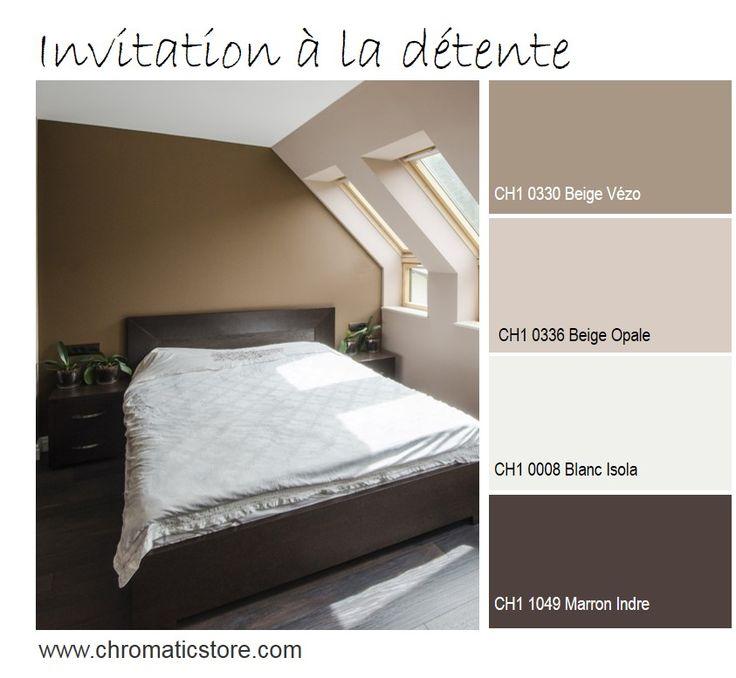 Les 54 meilleures images du tableau chromatic du beige - Palette de couleur peinture pour chambre ...