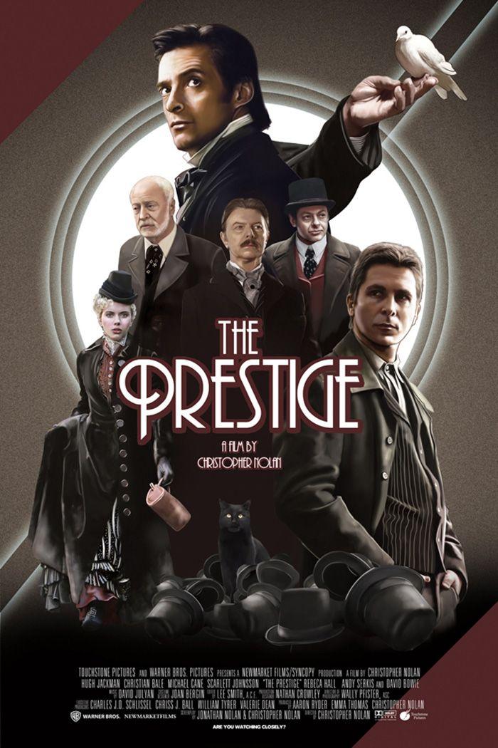 The Prestige by Alberto Reyes Francos - Home of the Alternative Movie  Poster -AMP- | The prestige movie, Movie posters, Alternative movie posters