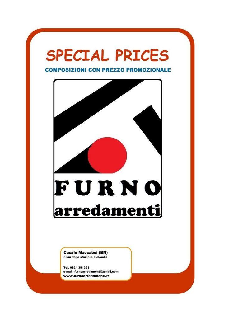 """Promozione """"SPECIAL PRICES"""" Sfoglia questa brochure, abbiamo preparato per te una selezione di composizioni a prezzi davvero speciali."""