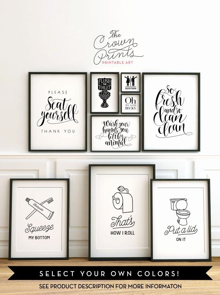 Art For Bathroom Ideas Best Of Cloakroom Wall Art The 25 Best Bathroom Wall Art Ideas In 2020 Bathroom Wall Art Printables Bathroom Wall Decor Art Bathroom Decor Signs