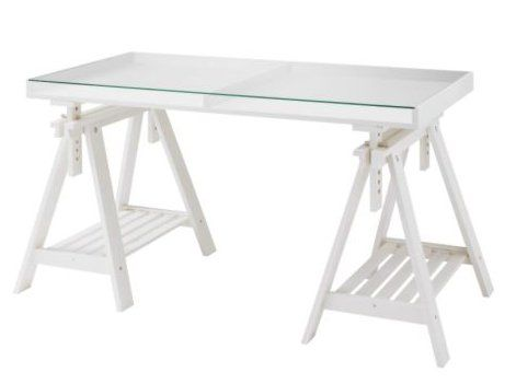 Vika gruvan vika artur table the o 39 jays never and desks - Glass office desk ikea ...