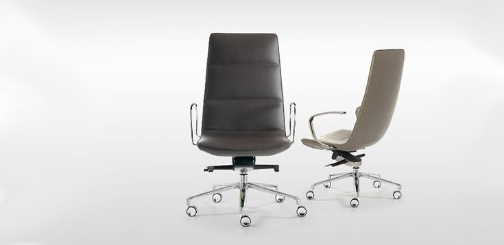 Quinti office chairs for elegant hotel rooms and home offices