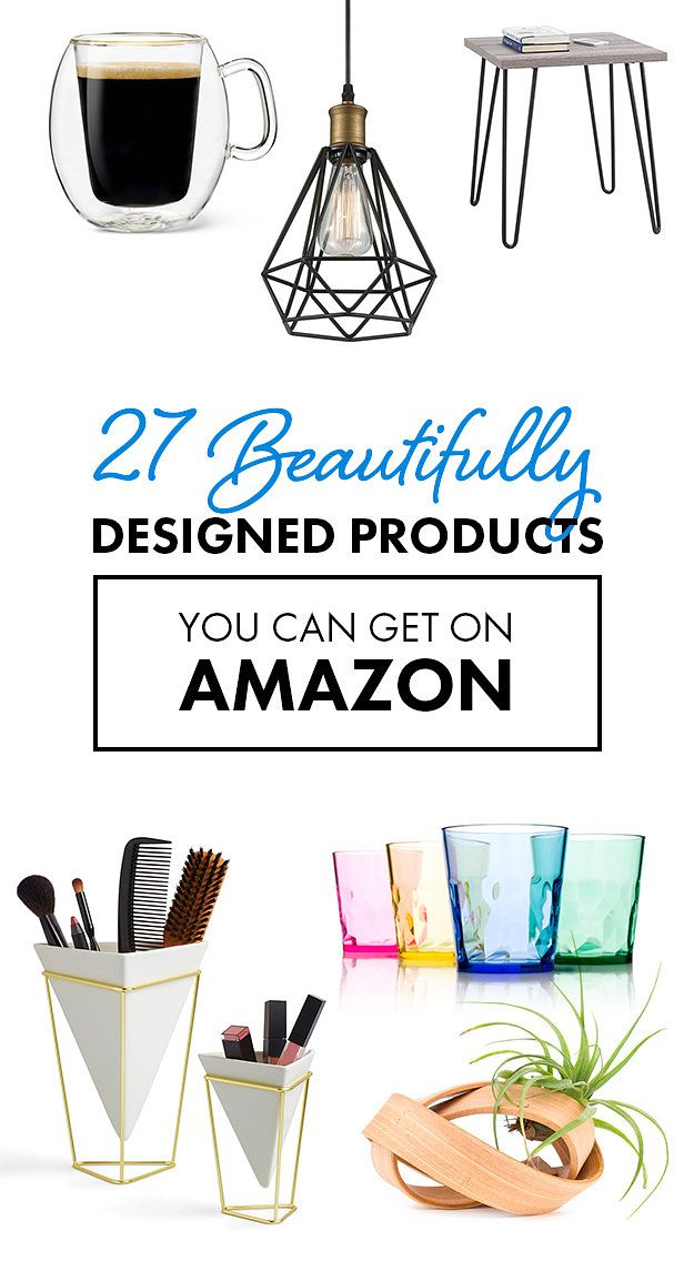 27 Beautifully Designed Products You Won't Believe You Can Get On Amazon