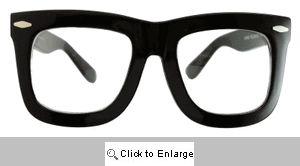 Status Clear Lens Glasses - 460LG Black