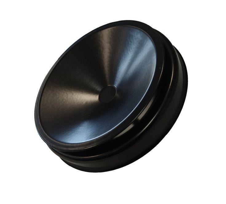 KTS-100 Saunan tuloilmaventtiili musta | Ilmatalo