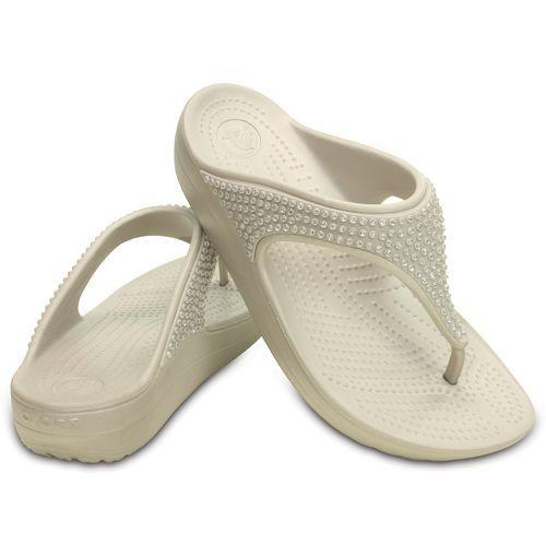 Crocs™ Women's Sloane Diamante Flip-Flops