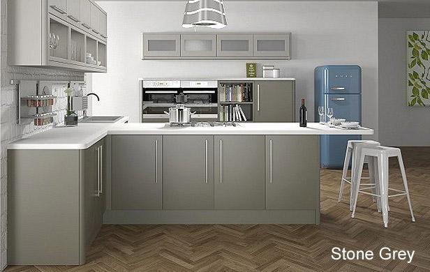 Flat Matt Painted Replacment Kitchen Cabinet Doors