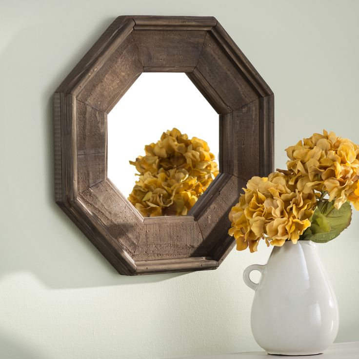 Three Posts Octagon Mirror