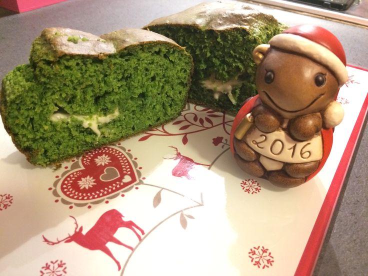 Plumcake verde con spinaci e formaggio
