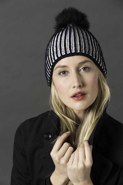 Ravelry: #10 Brioche Hat pattern by Dina Mor