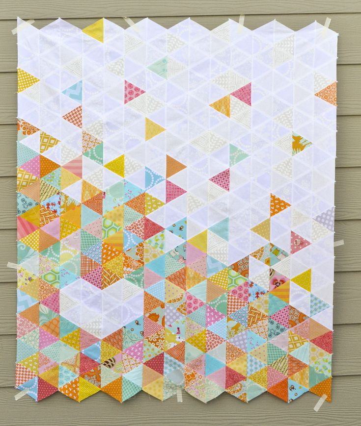Heart Quilt, free tutorial by Corinne Sovey of Must Love Quilts #textile #fabric