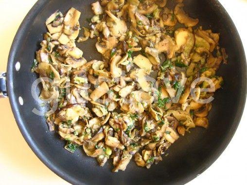 Poêlée de champignons persillés