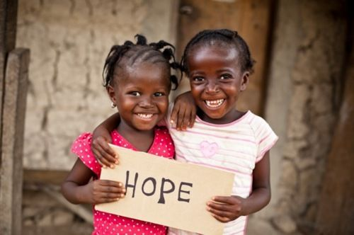 Give malnourished kids in Africa hope by donating.