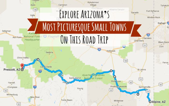 Take This Road Trip Through Arizona's Most Picturesque Small Towns For A Charming Experience