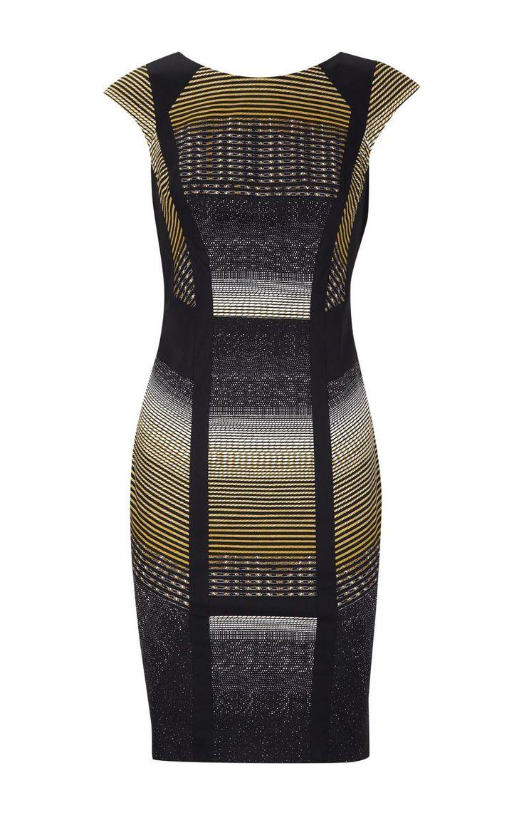 Graphic Print Pencil Dress by Karen Millen, perfect me dress