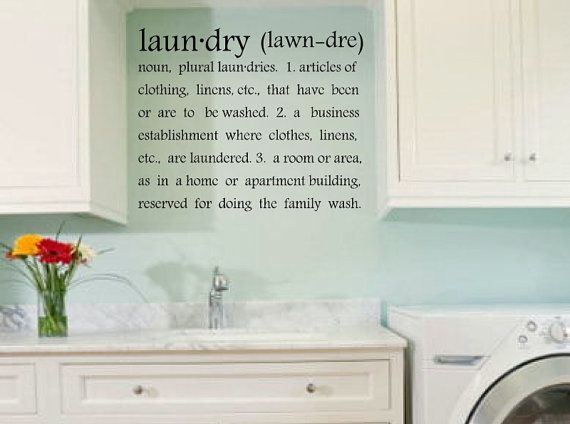 Laundry Room Vinyl Endearing Best 25 Laundry Room Decals Ideas On Pinterest  Landry Room Inspiration Design