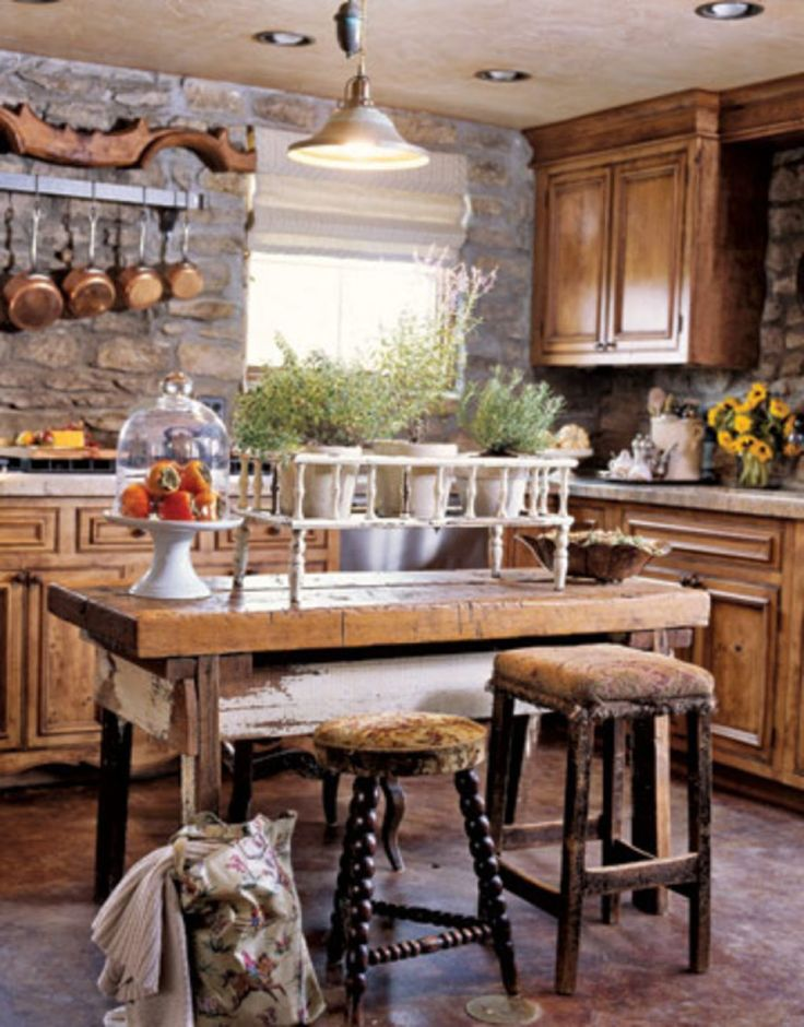 Kitchen Get A Superb Look By Building Extraordinary Rustic Italian Kitchens In Small Spaces
