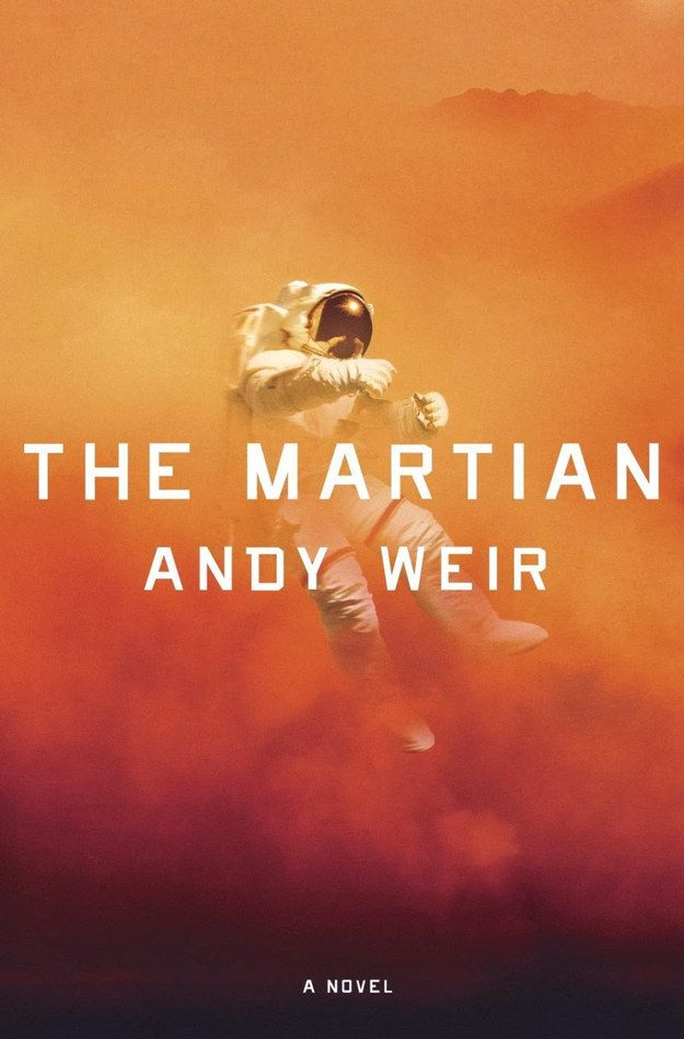 The Martian by Andy Weir | 32 Of The Most Beautiful Book Covers Of 2014