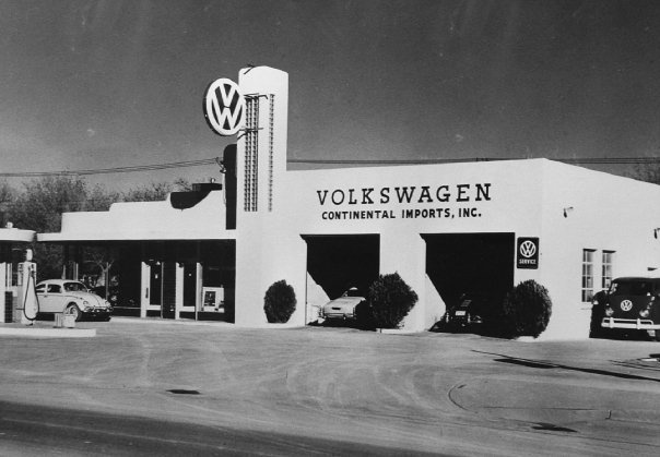 Our Store, McDonald Volkswagen, when it first opened up in the 60's