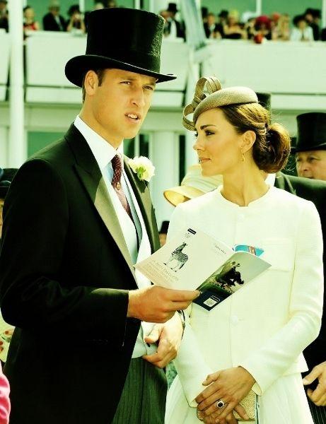 the royals: Duchess Of Cambridge, Prince Williams, Royals Couple, Kate Middleton, Royals Ascot, Duchess Kate, Royals Families, Princesses Kate, Tops Hats