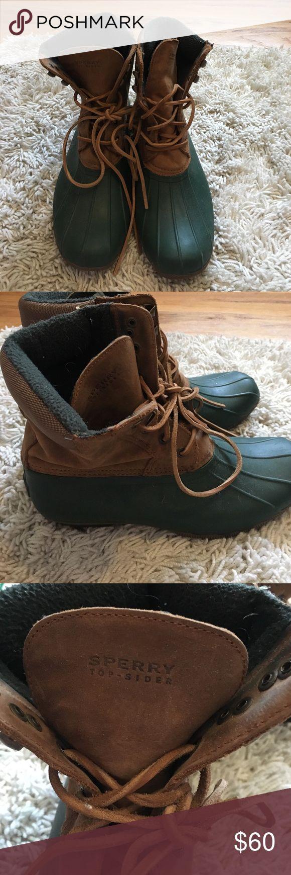 Sperry winter boots Green/brown Sperry winter boots Sperry Top-Sider Shoes Winter & Rain Boots
