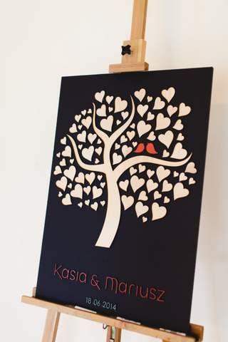 księga podpisu drzewo / weselna księga gości ze sklejki http://www.reklamakubus.pl/ksiega-podpisu/