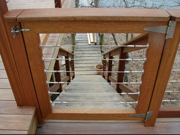 Ideal Garten Stahlgel nder Deck Gel nder Edelstahlseilgel nder Kabel Gel ndersysteme Fotogalerien Garden