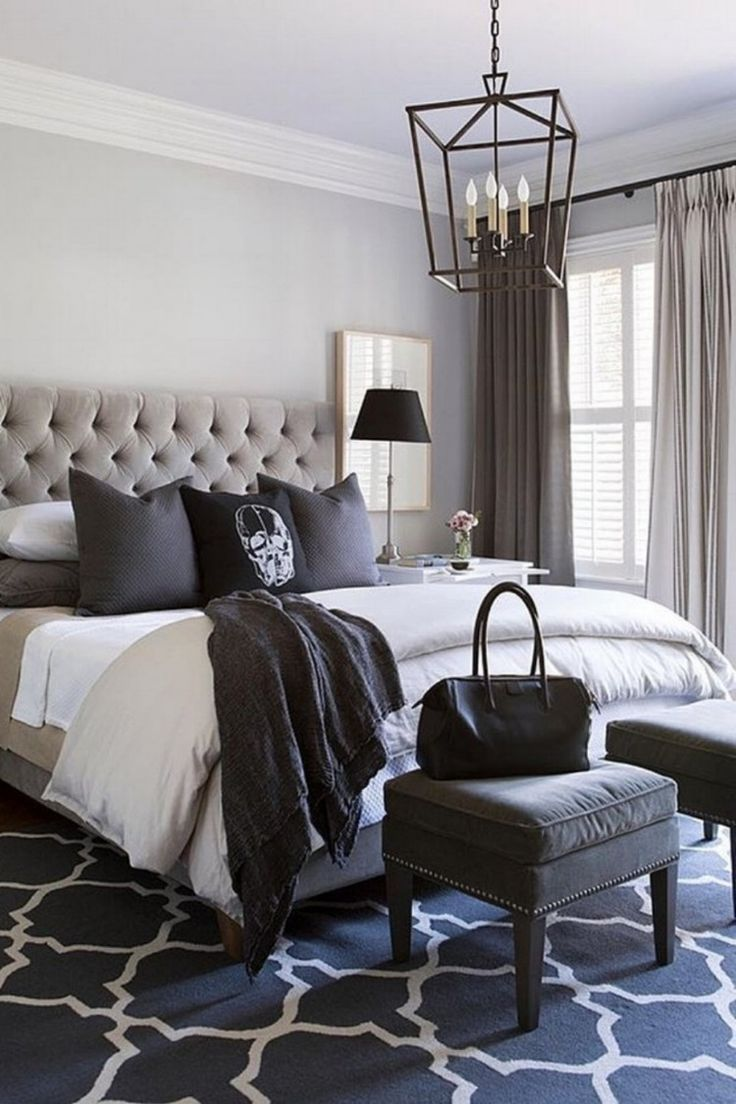 31 Gorgeous & Ultra-Modern Bedroom Designs | Small master ...