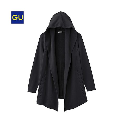 (GU)スウェットカーディガン(長袖)EC - GU ジーユー