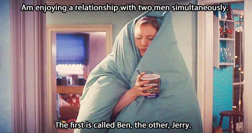 Image result for bridget jones ben & jerrys