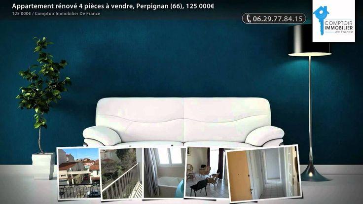 Perpignan Aristide Briand dans petite résidence sécurisée. Appartement T3/4 entièrement rénové d'une surface de 73 m² avec 2 terrasses et 1 cave au 2ème étage. Actuellement une pièce double salon-salle à manger pouvant être fermée pour créer une 3ème chambre. Cuisine aménagée, double chauffage gaz et climatisation réversible.     COMPTOIR IMMOBILIER DE FRANCE - Jacques MAURY - 06 29 77 84 15 - Plus d'informations sur www.cif-immo.com (réf. 3045)