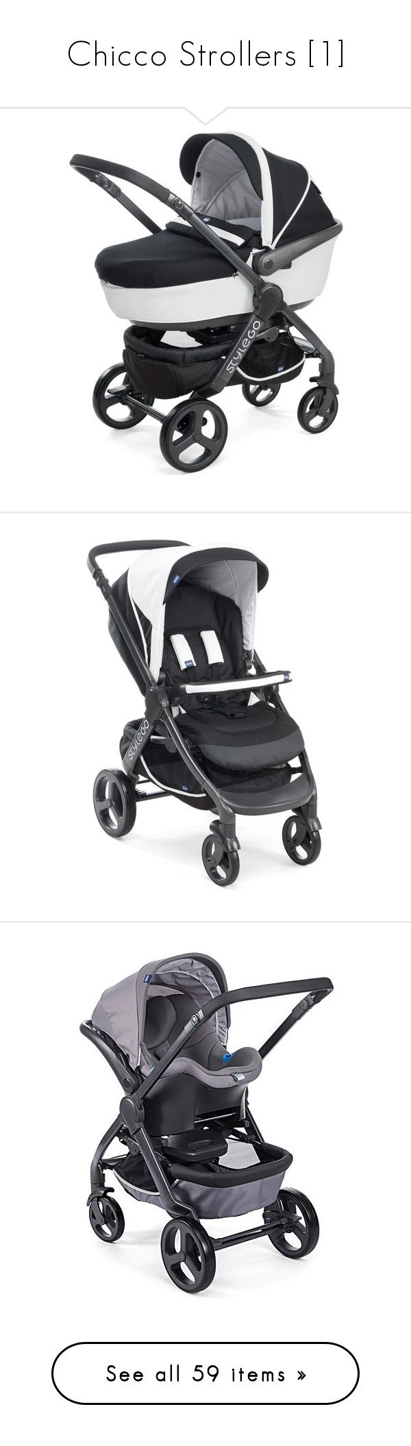 """""""Chicco Strollers [1]"""" by buildyourown ❤ liked on Polyvore featuring baby, baby girl, kids, pram and baby stuff"""