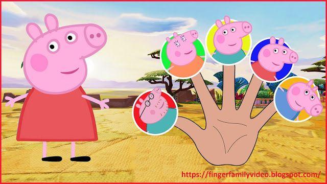 Finger Family Song, Finger Family Song Lyric, Finger Family Peppa Pig