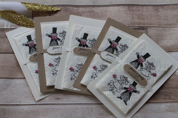 Personalised Wedding favour holders includes tissues-For your Happy Tears-PC