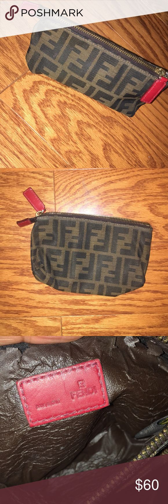 Fendi Makeup Bag Fendi Makeup Bag Authentic Vintage Fendi